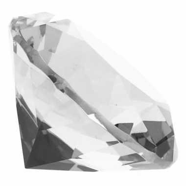 Hobby transparante nep diamant glas