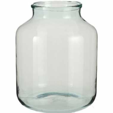 Hobby vaas vienne transparant glas