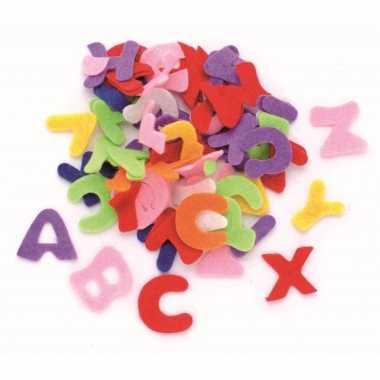 Hobby vilt gekleurde vilten letters ,