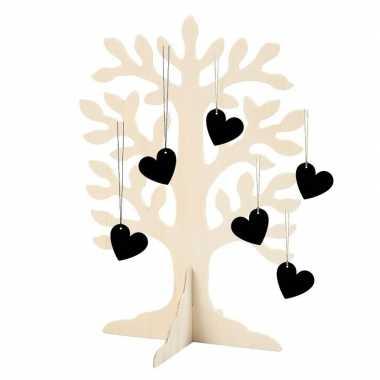 Hobby wensboom bruidspaar