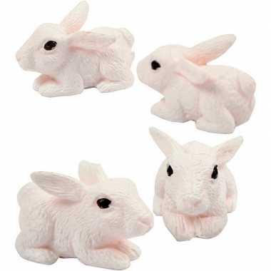 Hobby x decoratie konijntjes/haasjes