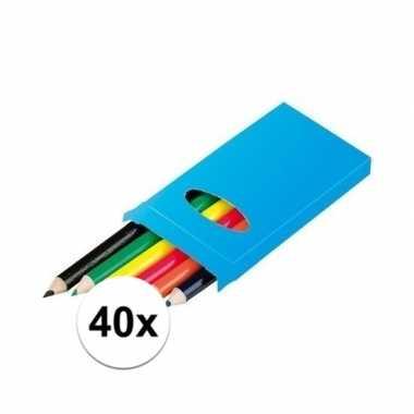 Hobby x doosjes kleurpotloden potloden 10112632