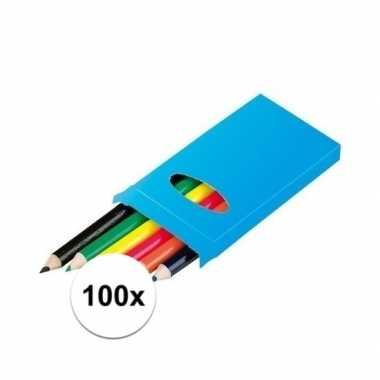 Hobby x doosjes kleurpotloden potloden