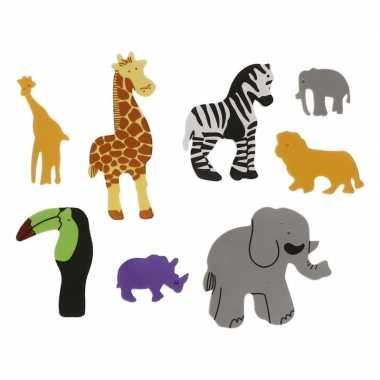 Hobby x foam safari dieren knutsel materiaal kinderen