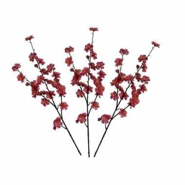 Hobby x fuchsia roze malus domestica/appelbloesem kunsttakken