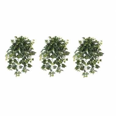 Hobby x groene hedera helix/klimop kunstplant buiten