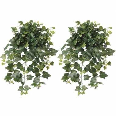 Hobby x groene hedera helix/klimop kunstplanten buiten