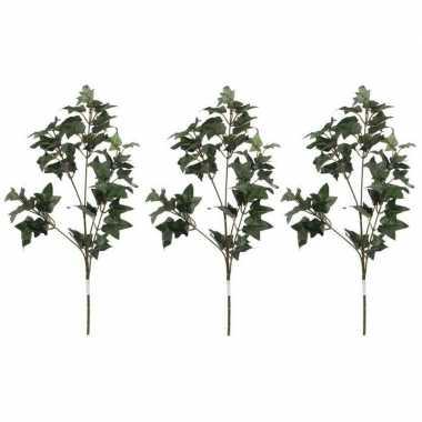Hobby x groene hedera/klimop kunsttak kunstplant
