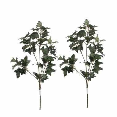 Hobby x groene hedera/klimop kunsttakken kunstplanten