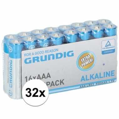 Hobby x grundig aaa batterijen alkaline