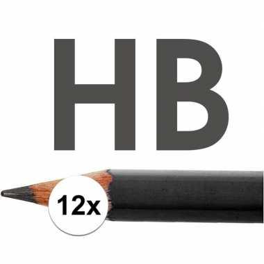 Hobby x hb potloden volwassenen hardheid hb