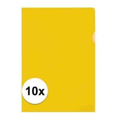 Hobby x insteekmap geel a formaat