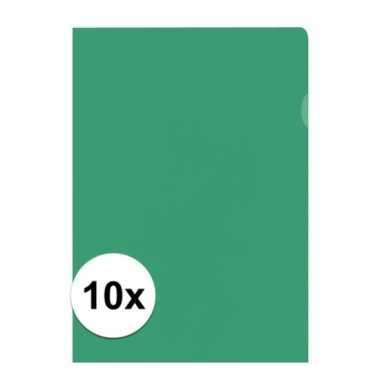 Hobby x insteekmap groen a formaat