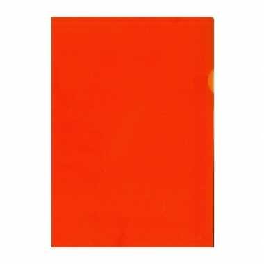 Hobby x insteekmap oranje a formaat
