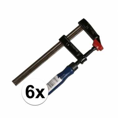 X kleine lijmklemmen/hobbyklemmen metaal