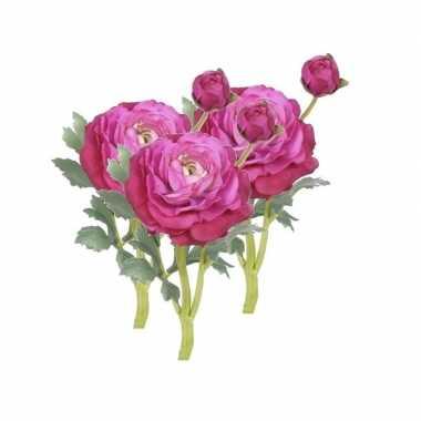 Hobby x kunstbloemen ranonkel roze