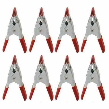 Hobby x mini zeilklemmen/zeilclips metaal