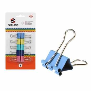 Hobby x papier clips/houders gekleurd ,