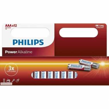 Hobby x philips aaa batterijen power alkaline