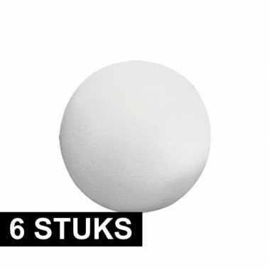 Hobby x piepschuim ballen figuren vormen