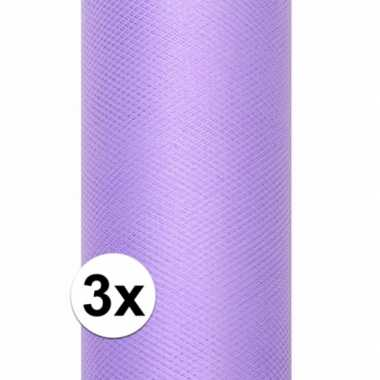 Hobby x rollen tule stof paars , meter