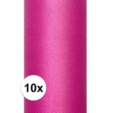 Hobby x rollen tule stof roze , meter