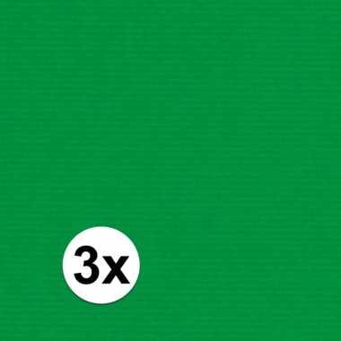 Hobby x schoolboeken kaftpapier groen rol