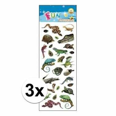 Hobby x stickervellen reptielen