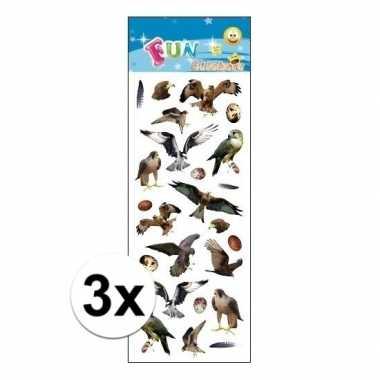Hobby x stickervellen roofvogels