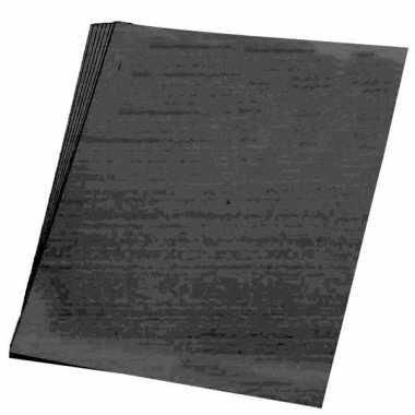 Hobby x vellen zwart karton