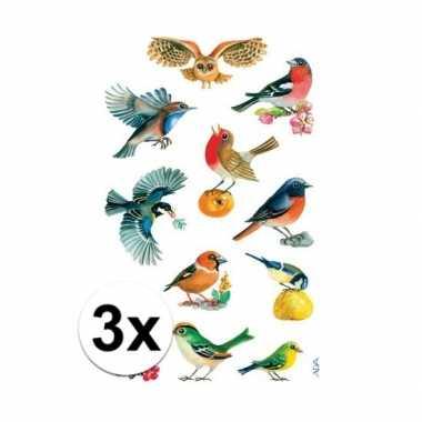Hobby x vogel stickers vellen