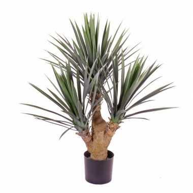Hobby yucca kunstplant pot binnen/buiten