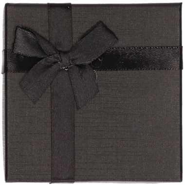 Hobby zwart sieradendoosje/cadeaudoosje