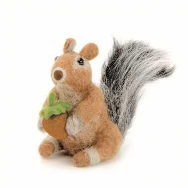 Maak je eigen eekhoorn hobby vilt pakket