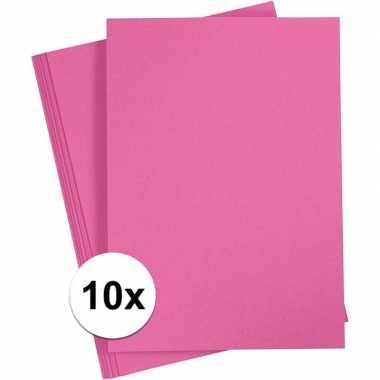 X a hobby karton fuchsia roze grams