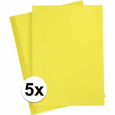 X a hobby karton geel grams
