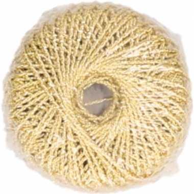 X gouden glitter touw meter hobby/cadeaulint