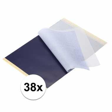 X luxe hobby overtrekpapier