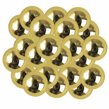X stuks gouden plastic hobby kralen mm
