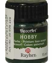 Hobby acrylverf donkergroen ml