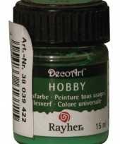 Hobby acrylverf groen ml