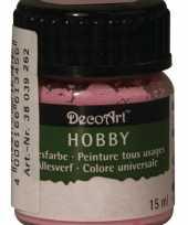 Hobby acrylverf lichtroze ml