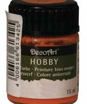 Hobby acrylverf oranje ml