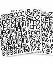 Hobby alfabet stickers