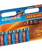 Hobby alkaline batterijen aa grundig stuks