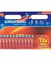 Hobby alkaline batterijen aaa grundig stuks