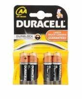 Hobby batterijen r aa duracell stuks
