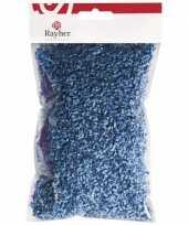 Hobby decoratie gras blauw gram