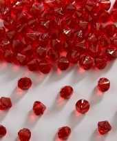 Hobby diamantjes rood mm
