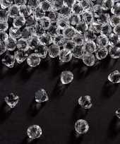 Hobby diamantjes transparant mm